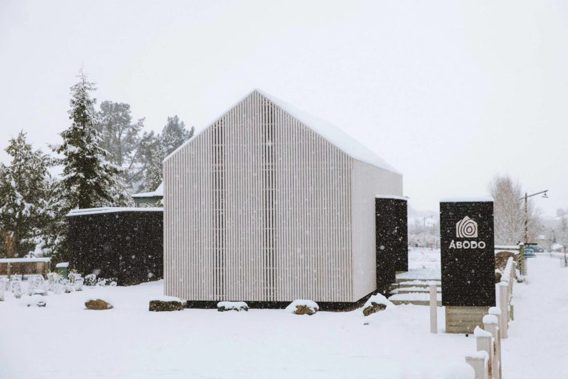 Abodos Cardrona Cabin the chapel to craft wins NZIA Small Projects Architecture Award Abodo Wood