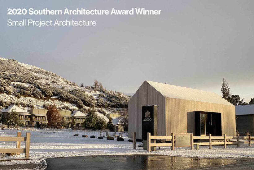 Its a WIN The Cardrona Cabin Takes Home Small Project Architecture Award Abodo Wood 4