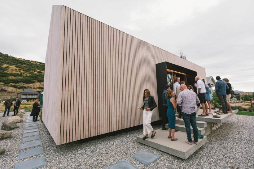 Sustainable eco timber showcase launches in Cardrona Abodo Wood 1