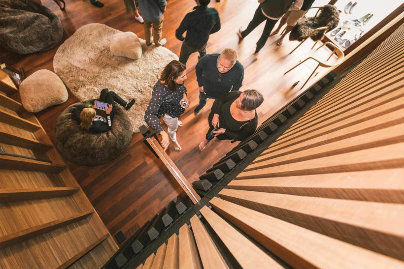 Sustainable eco timber showcase launches in Cardrona Abodo Wood 12