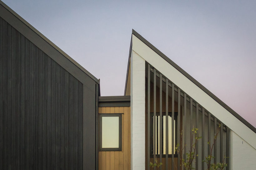 Blackburn Point Townhouses - Vulcan Cladding and Screening - Abodo Wood