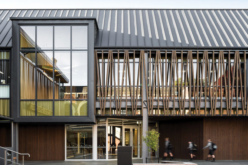 Christchurch Boys High School Vulcan Timber Abodo Wood 1