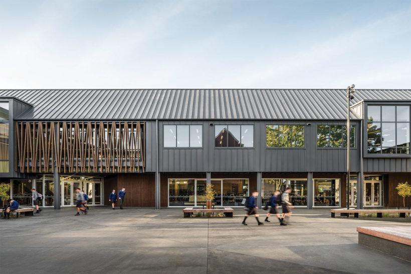 Christchurch Boys High School Vulcan Timber Abodo Wood 9