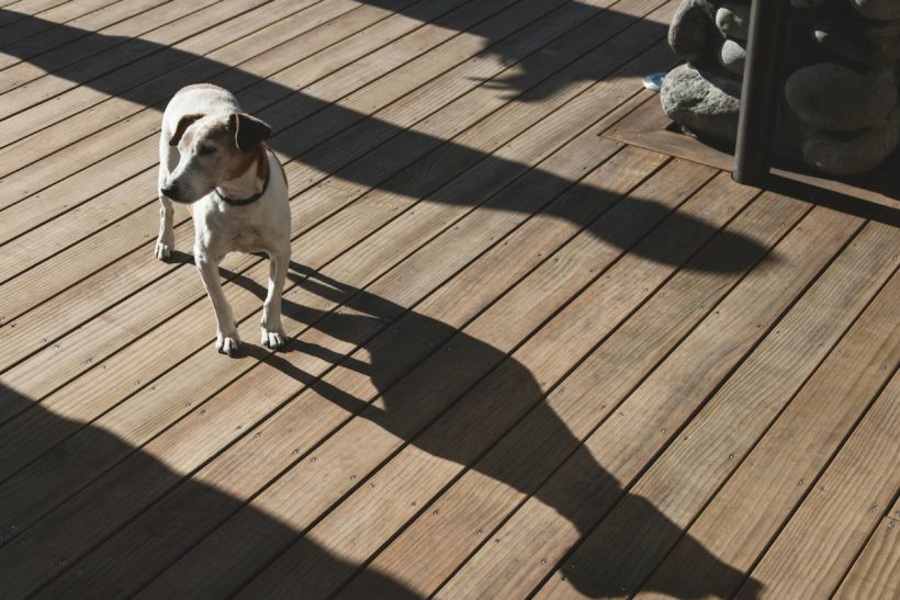 Donelley House - Sand Decking - Abodo Wood