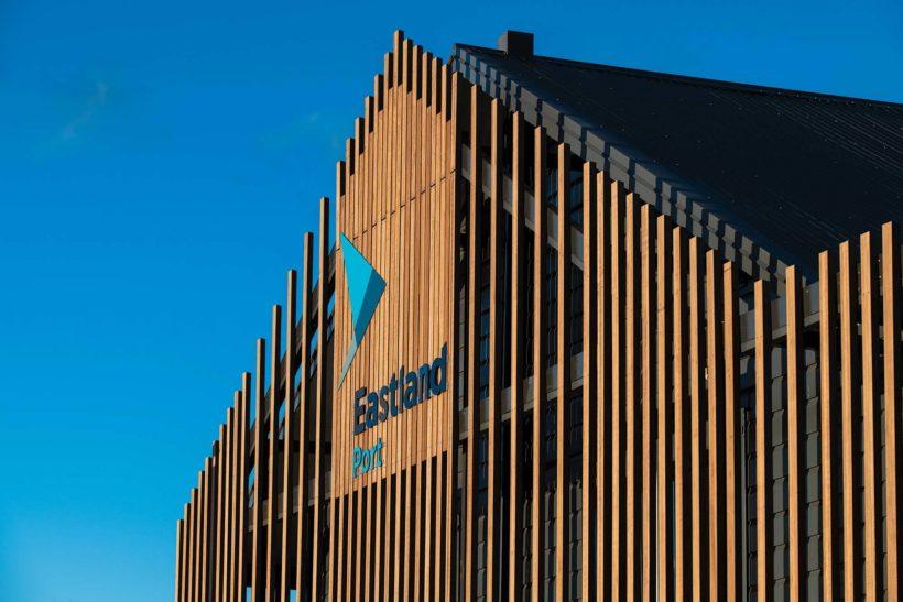 Eastland Port Offices Vulcan Screening and Vulcan Decking Abodo Wood