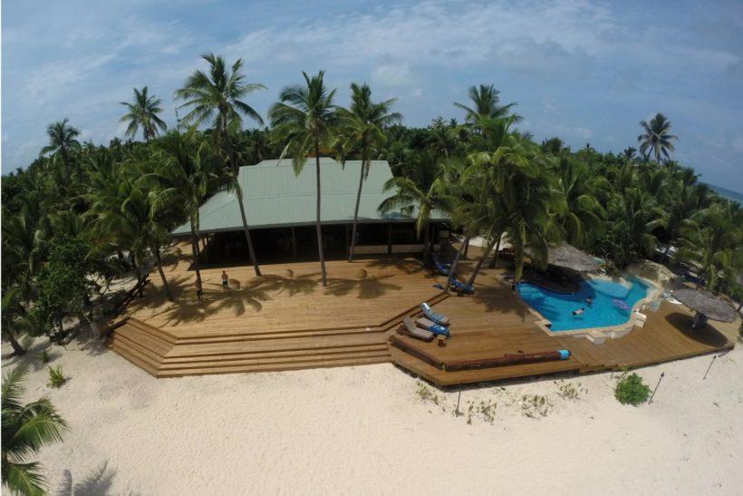 Eco Resort, Tavarua Island - Sand Decking - Abodo Wood