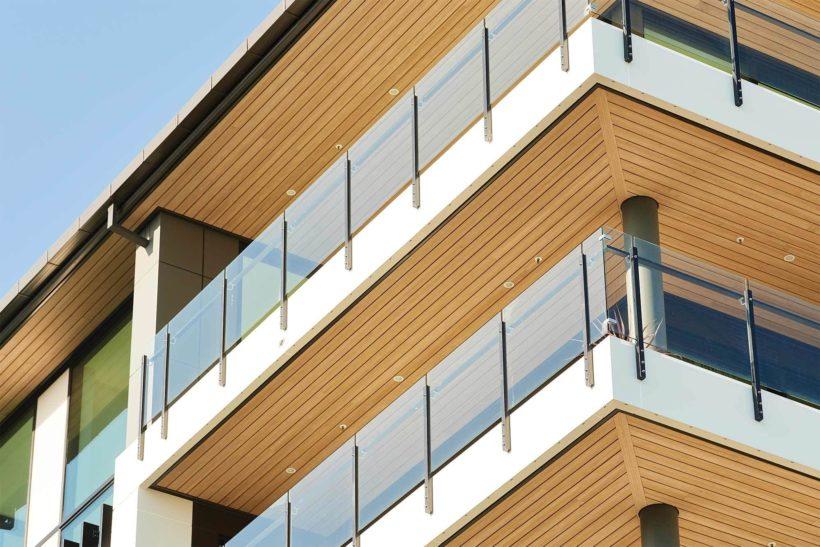 Latitude Luxury Apartments Vulcan Cladding in Sioox Abodo Wood 3