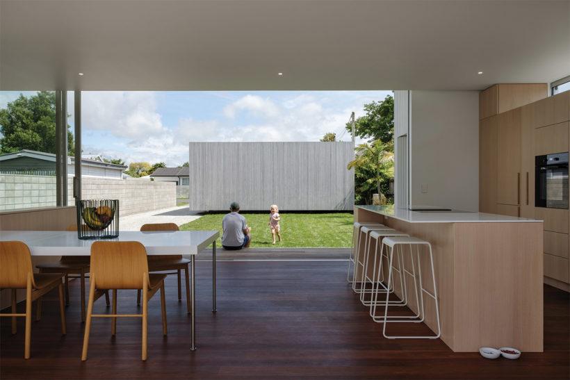 Shane Kingsbeers Gisborne home and studio Vulcan timber Abodo Wood 1