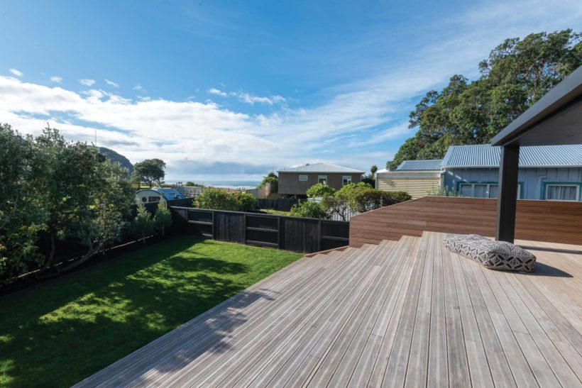 Waihi Beach House Vulcan Decking and Rhombus Clip Abodo Wood 7