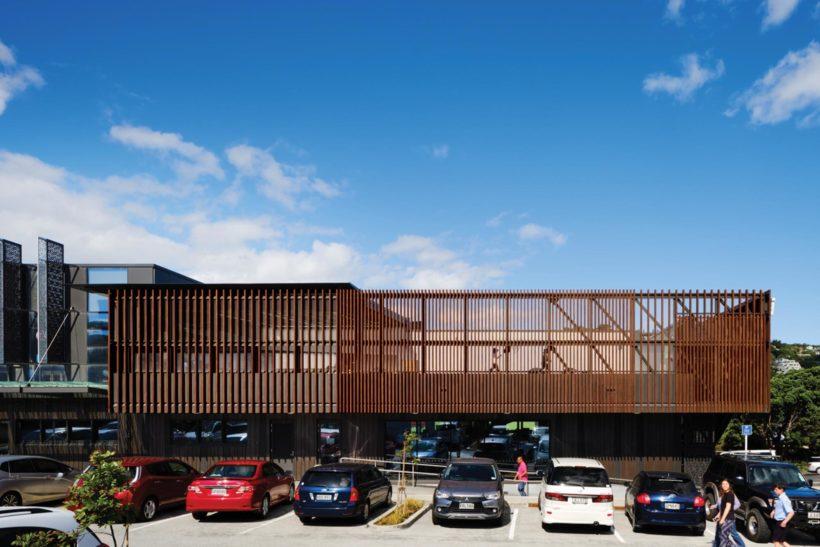 Waitohi Library and Community Hub Vulcan Screening Abodo Wood 3