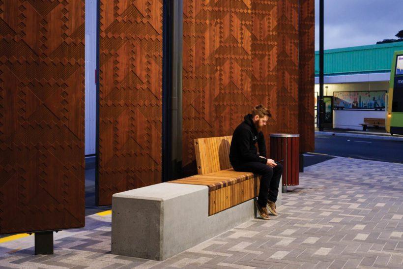 Waitohi Library and Community Hub Vulcan Screening Abodo Wood