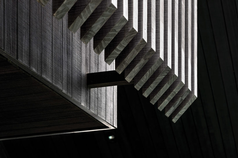 Westmere House Vulcan Cladding and Vulcan Screening Abodo Wood 7