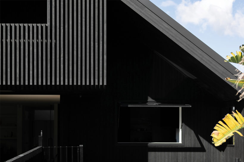 Westmere House Vulcan Cladding and Vulcan Screening Abodo Wood 4