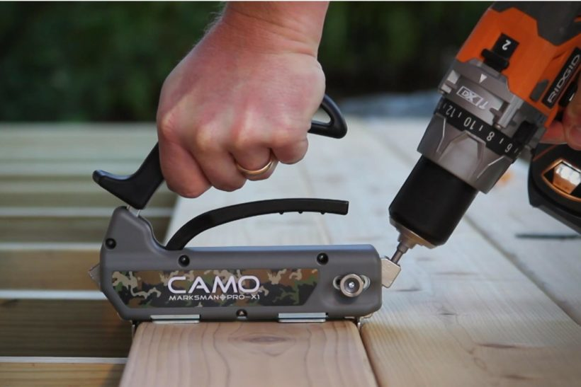Camo Concealed Fix Decking Fastener Abodo Wood