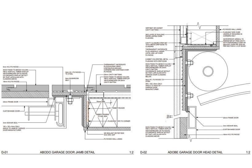 Lightweight Timber Garage Doors Abodo Wood 5