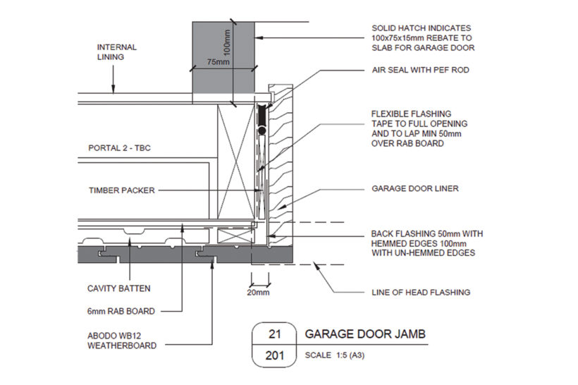Lightweight Timber Garage Doors Abodo Wood 1